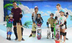 """""""The Barrios"""" la escuela de skateboarding de la Cicer"""