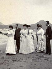 1905: jolgorio en la orilla de la playa de Las Canteras