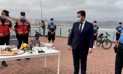 Las Palmas de Gran Canaria refuerza durante el verano la seguridad en las playas, que contarán con vigilancia de drones
