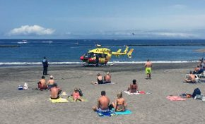El Servicio de Urgencias Canario insiste en la prevención para evitar ahogamientos