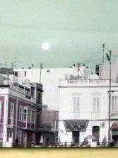 El paisaje urbano de la Playa Chica en los años ochenta