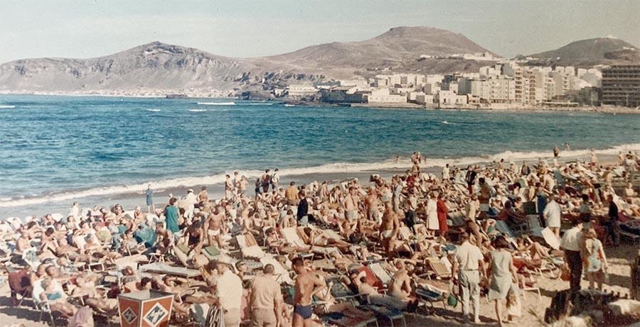 Navidad de 1968: la imagen del boom turístico