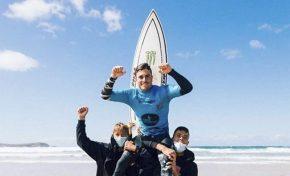El grancanario Luis Díaz se proclama campeón de España de surf