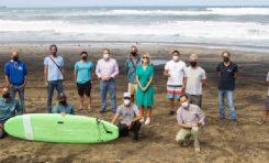Las Palmas de Gran Canaria contará en 2021 con un centro de surf adaptado en la playa de Las Canteras