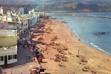 La Playa Grande en los años sesenta