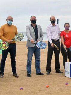 El circuito mundial de tenis playa elige Las Canteras para su torneo más importante
