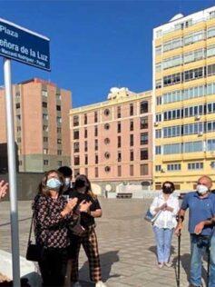 Se dedica la plaza de La Luz al poeta y escritor Arturo Maccanti