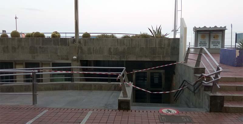 El Ayuntamiento tiene cerrado el «balneario del Cristina»