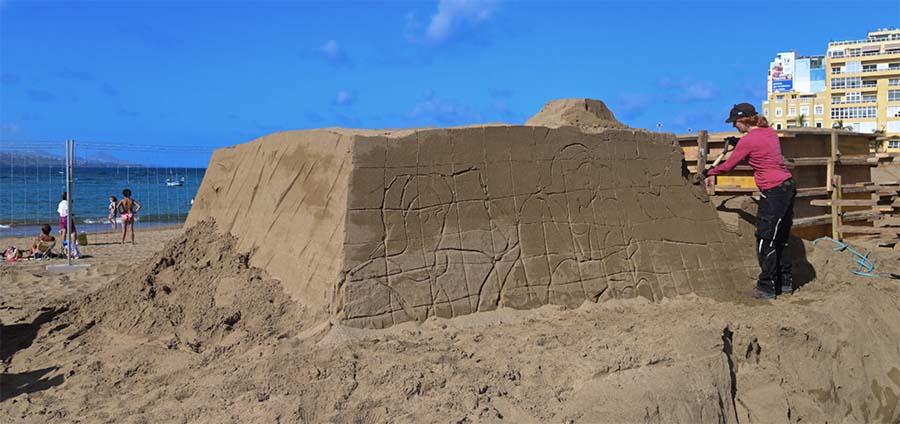 El Belén de arena vuelve el día 4 de diciembre con control de aforo e inscripción previa