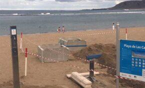 Ciudad de Mar sigue sustituyendo las pasarelas y las duchas