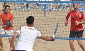 Las Canteras celebra el torneo internacional de tenis playa más importante del año covid