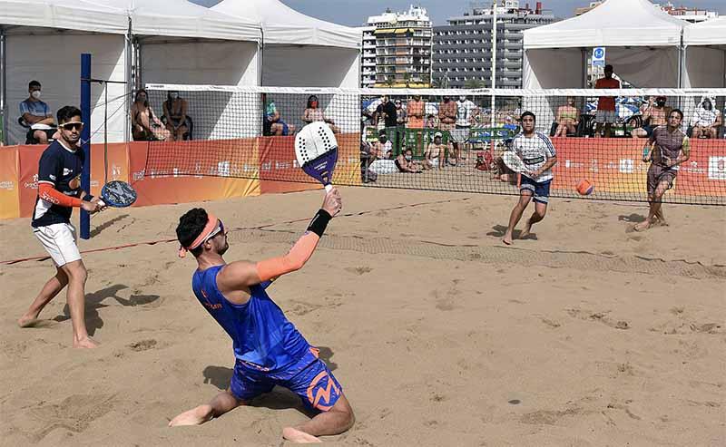 El Campeonato de España de Tenis Playa 2021 se celebrará entre el 22 y 25 de abril en la playa de Las Canteras