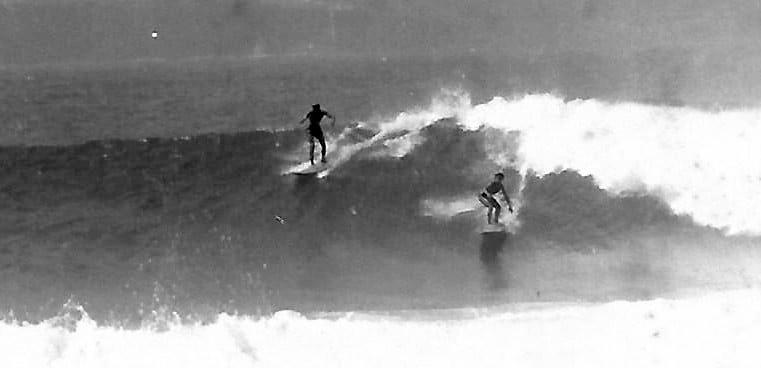 Surf en El Confital de los años setenta