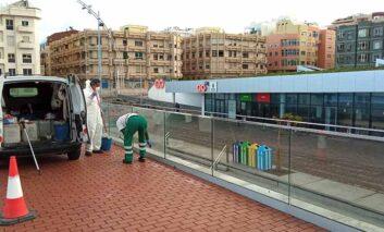 El mantenimiento municipal se hace cargo de la pasarela de la Cicer tras ser recepcionada por el Ayuntamiento