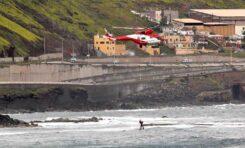 El aterrizaje en prácticas de un helicóptero del Gobierno de Canarias sobre el roque Matavinos pudo haber causado daños irreparables a nidos y crías de charranes