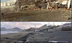 El mismo muro: antes y en la actualidad