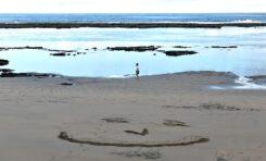 Una sonrisa en Playa Chica