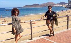 Entrevista a la escritora vasca Elisa Rueda: Las Canteras, paraíso de olas, orillas de felicidad