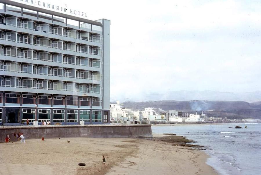 El Gran Canaria Hotel en los sesenta