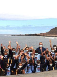 El proyecto 'Es tu Mar' promueve el conocimiento de la bahía de El Confital entre 800 escolares de Primaria