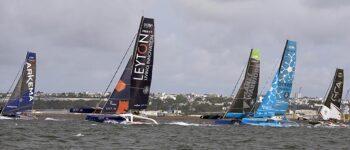 Los grandes trimaranes de la Prosailing Tour navegarán a principios de julio en la Bahía de El Confital