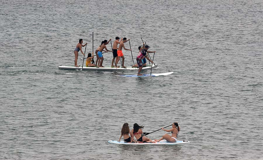 Qué hacer hoy en Las Canteras. Condiciones y mareas