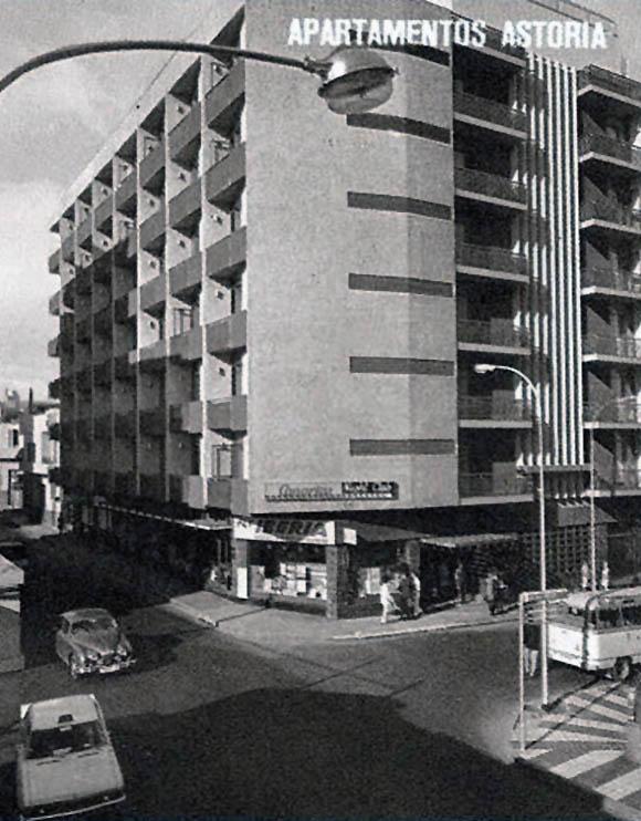 Los apartamentos Astoria en los años sesenta
