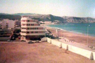El solar de Churruca en los años noventa