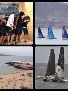 El Pro Sailing Tour cierra su tercera etapa y confirma a Las Palmas de Gran Canaria en el circuito internacional de grandes regatas