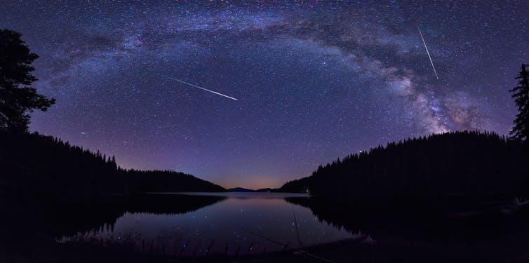 Perseidas, los meteoros que surcan el cielo en agosto