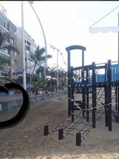 """Denuncian los escándalos de madrugada en el """"barco"""" de Playa Grande"""