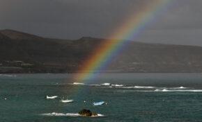 El arcoíris y la Peña