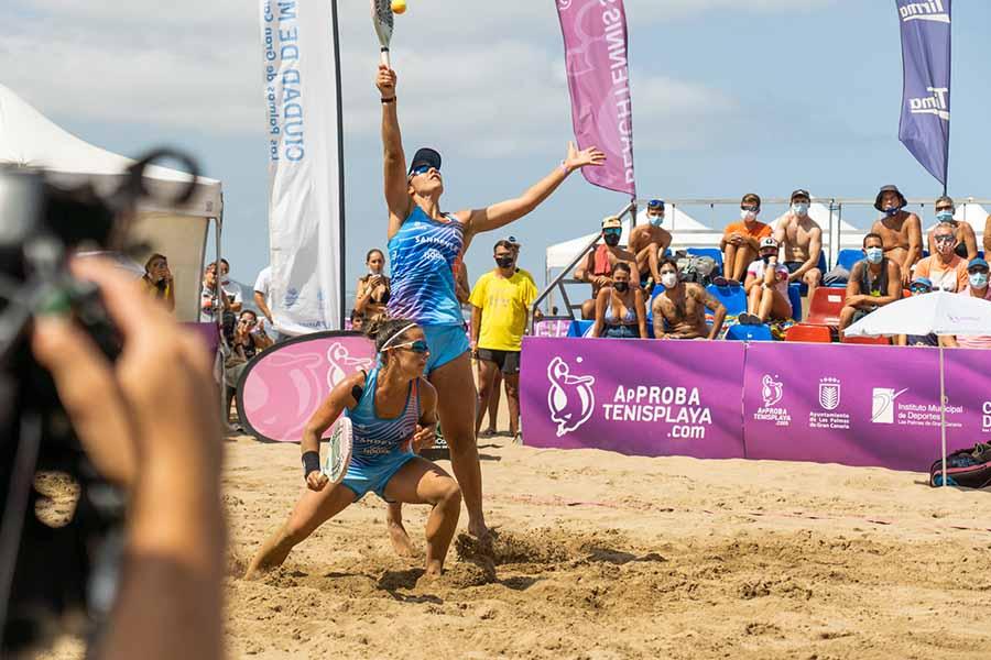Ramos- Cappelletti y Díaz- Miller ganan el Sand Series de Las Canteras
