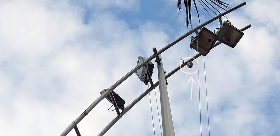 Se colocan en Las Canteras las primeras cámaras del proyecto Smart Beach