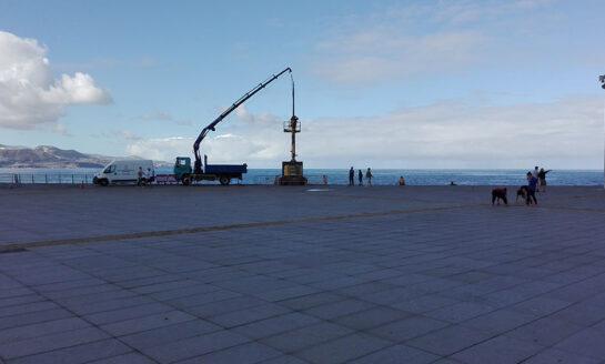 Este próximo noviembre se cumplen 5 años de la retirada de la escultura móvil de La Puntilla