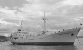 """Playa de las Canteras"" (1964-1985), primer barco de Navicasa"